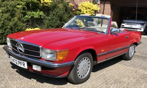 1987 Exceptional Mercedes Benz 500SL R107