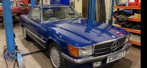 1987  Mercedes 107 420SL - 93k extensive history SOLD (picture 1 of 6)
