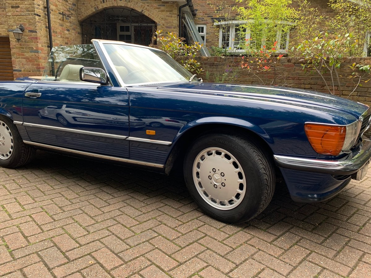 1987  Mercedes 107 420SL - 93k extensive history SOLD (picture 2 of 6)