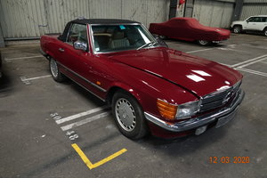 1986 MERCEDES 500 SL-1 owner from new