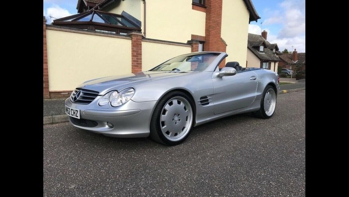 2003 Mercedes SL500 For Sale (picture 1 of 5)