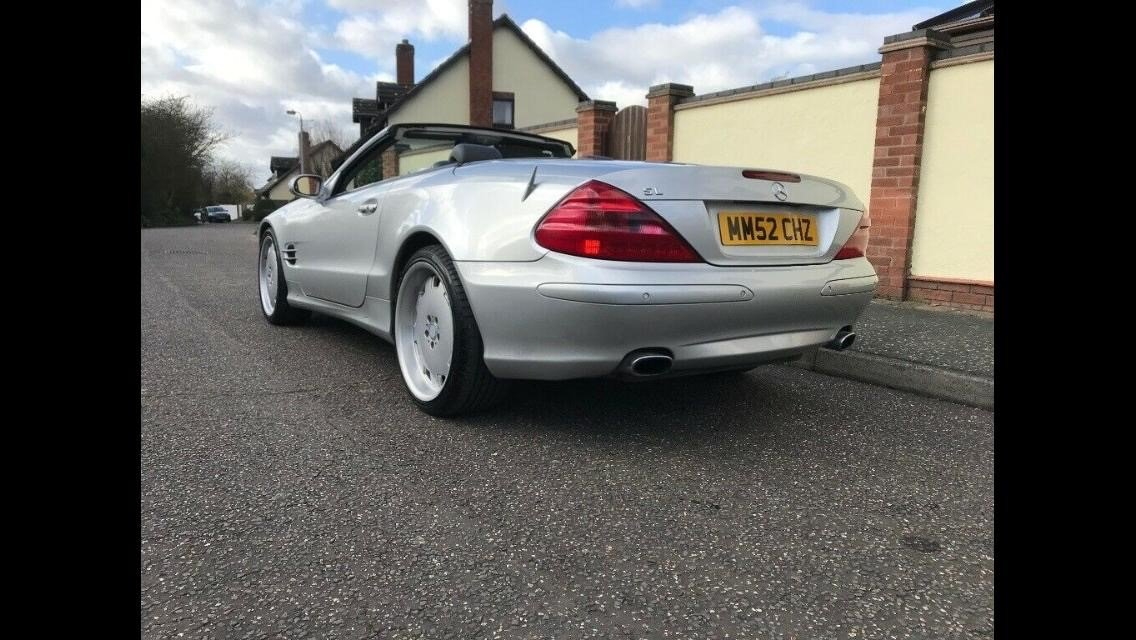 2003 Mercedes SL500 For Sale (picture 2 of 5)