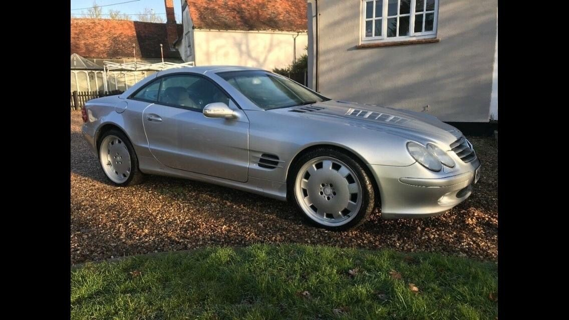 2003 Mercedes SL500 For Sale (picture 3 of 5)