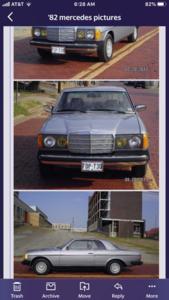 1982 Mercedes 300 CD