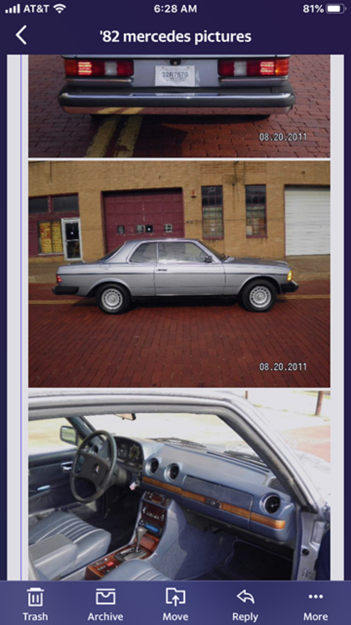1982 Mercedes 300 CD For Sale (picture 2 of 6)