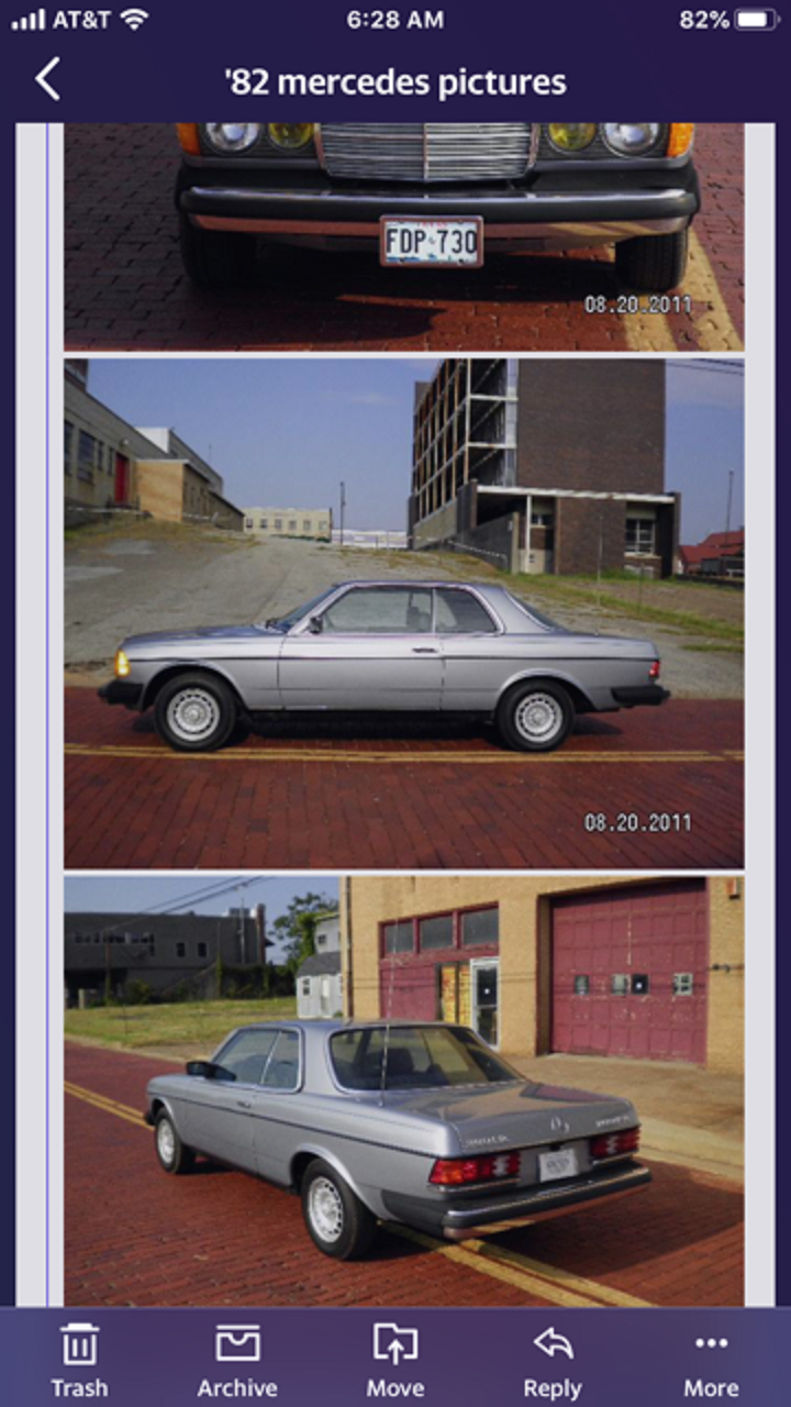 1982 Mercedes 300 CD For Sale (picture 3 of 6)