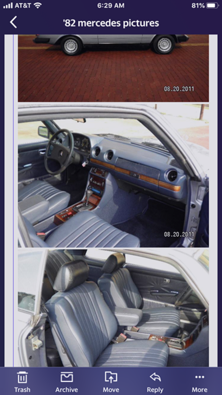 1982 Mercedes 300 CD For Sale (picture 4 of 6)