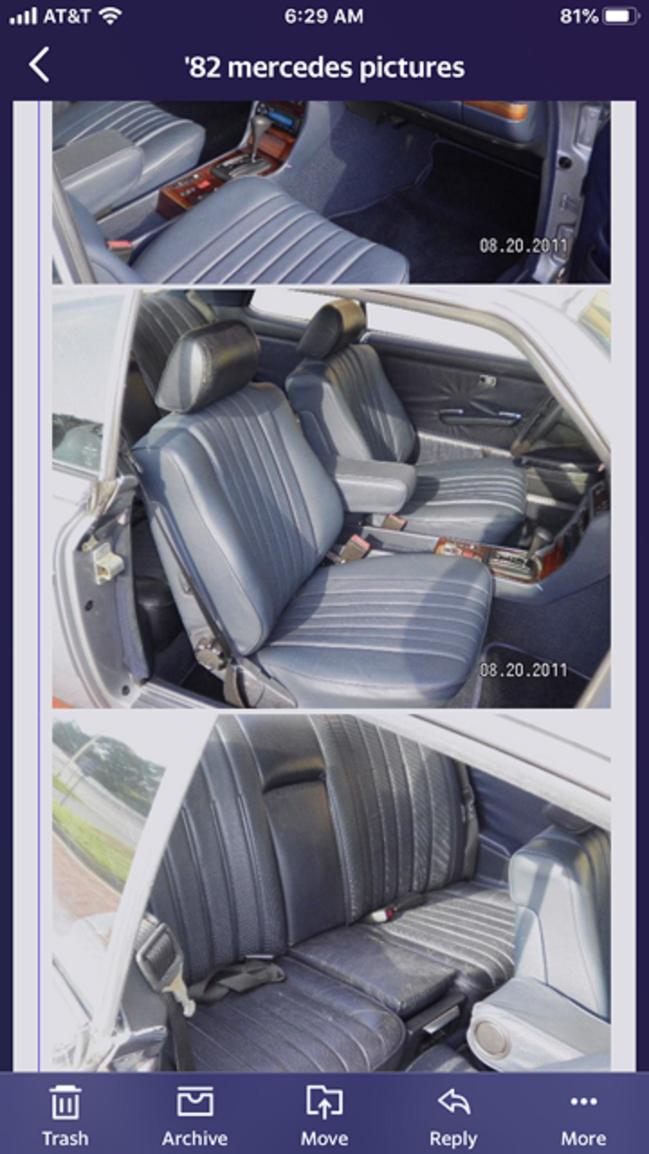 1982 Mercedes 300 CD For Sale (picture 5 of 6)