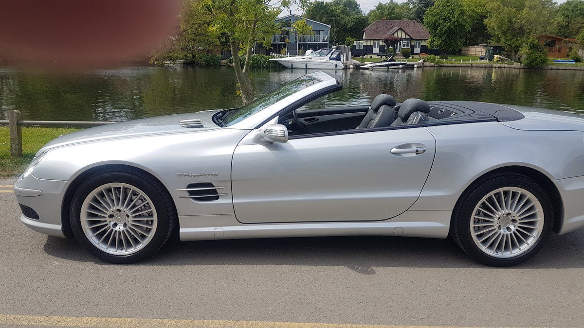 2004 Stunning SL55 AMG For Sale (picture 1 of 6)
