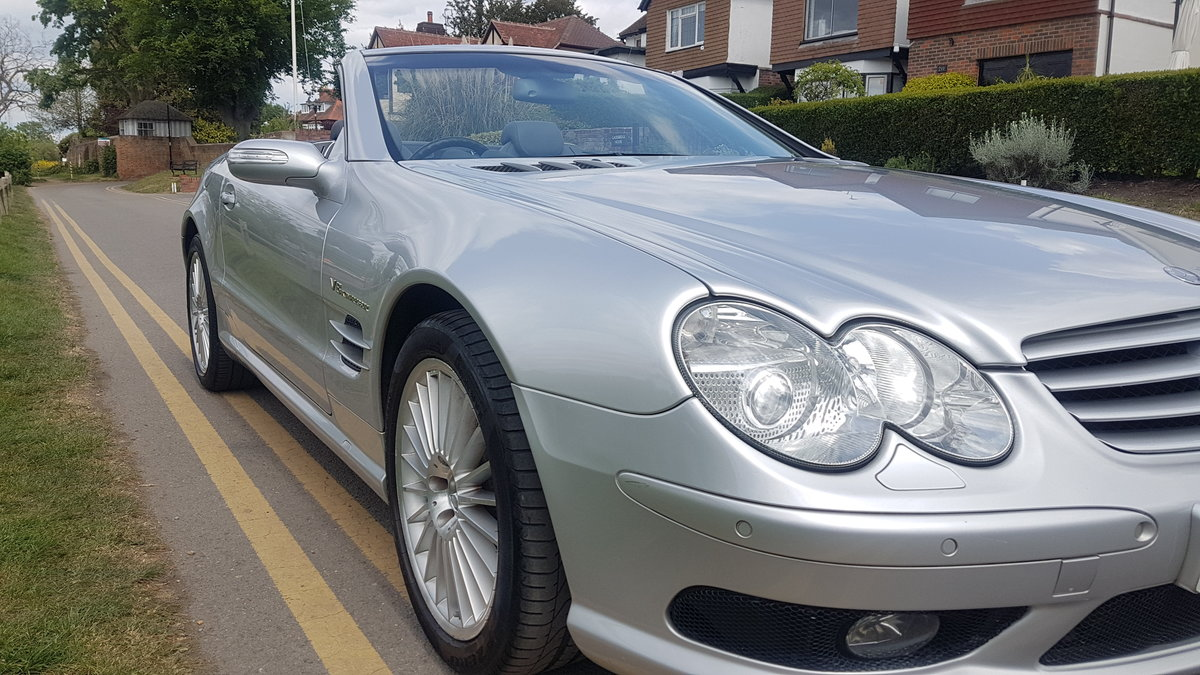 2004 Stunning SL55 AMG For Sale (picture 2 of 6)