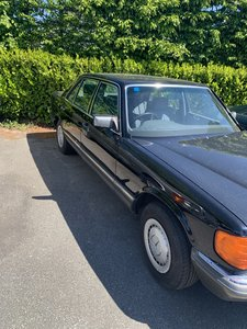 Mercedes For Sale W126 380 SEL