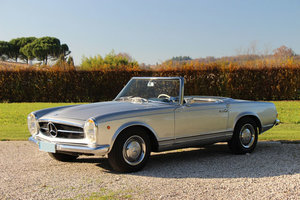 1963 LHD Mercedes 230 SL Pagode For Sale