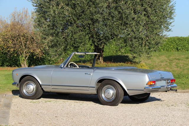 1963 LHD Mercedes 230 SL Pagode For Sale (picture 5 of 5)