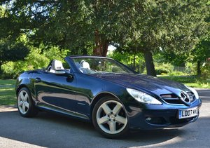 2007 Mercedes SLK 200 Automatic One owner 19,700 miles from new SOLD
