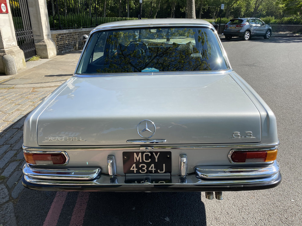 1971 Mercedes Benz 300SEL 6.3 - immaculate condition For Sale (picture 13 of 24)