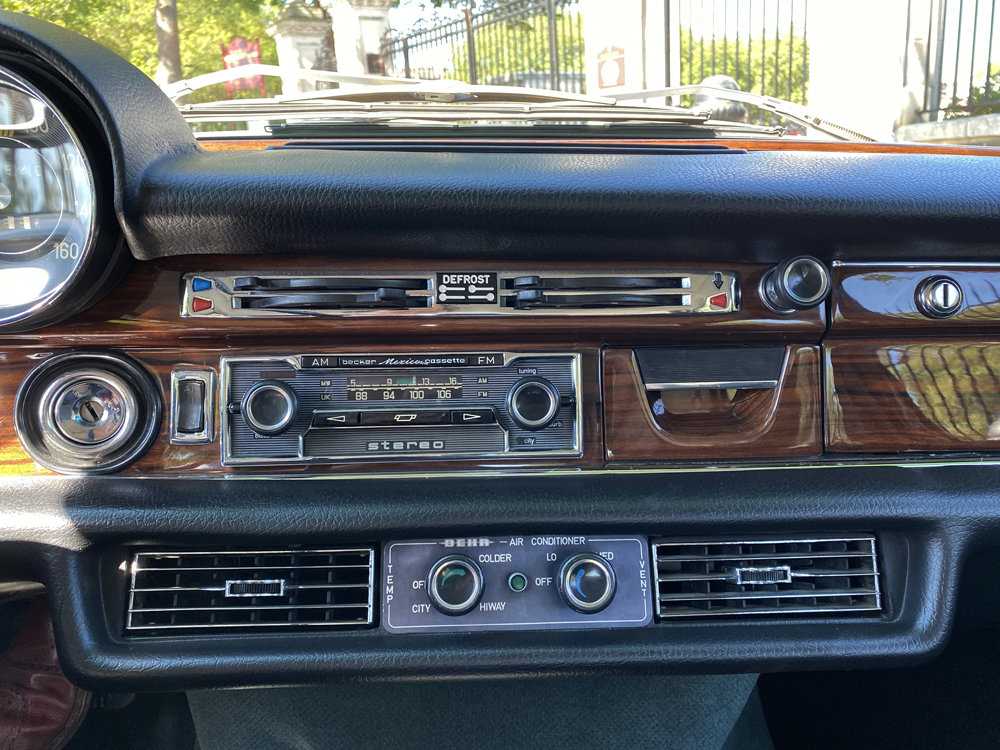 1971 Mercedes Benz 300SEL 6.3 - immaculate condition For Sale (picture 20 of 24)