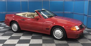1991 Mercedes 300SL, only 27,000 miles SOLD