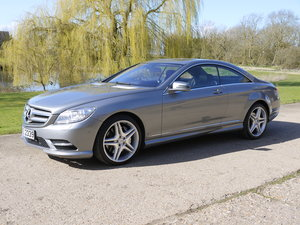 2014 Mercedes CL500 4.7 V8 7G-Tronic Auto Start-Stop BlueEFF