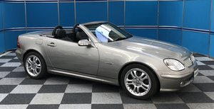 2004 Mercedes SLK320 Special Edition SOLD