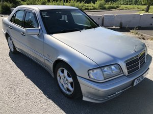 1999 MERCEDES C200 SPORT MANUAL SILVER 67000 MILES