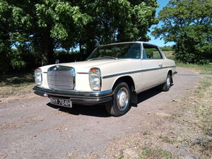 Mercedes-Benz W114 250CE RHD Auto Pillarless SOLD