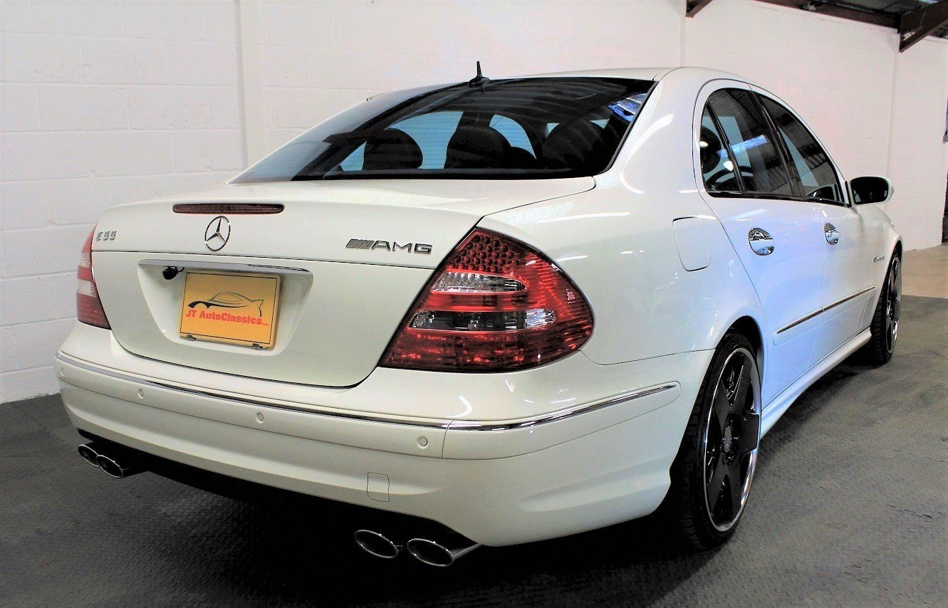 2005 Mercedes-Benz W211 E55 AMG,25,076 miles from new For Sale (picture 2 of 6)