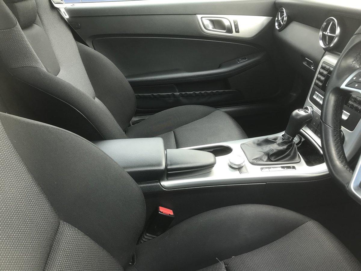 2011 Mercedes SLK black convertible For Sale (picture 6 of 6)