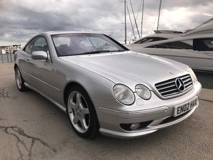 2002 Mercedes cl55 amg low mileage only 77k warranted