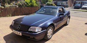 Mercedes sl320, full service history, convertible