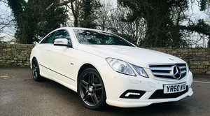 MERCEDES E 350 CDI COUPE AMG extras MAY PX