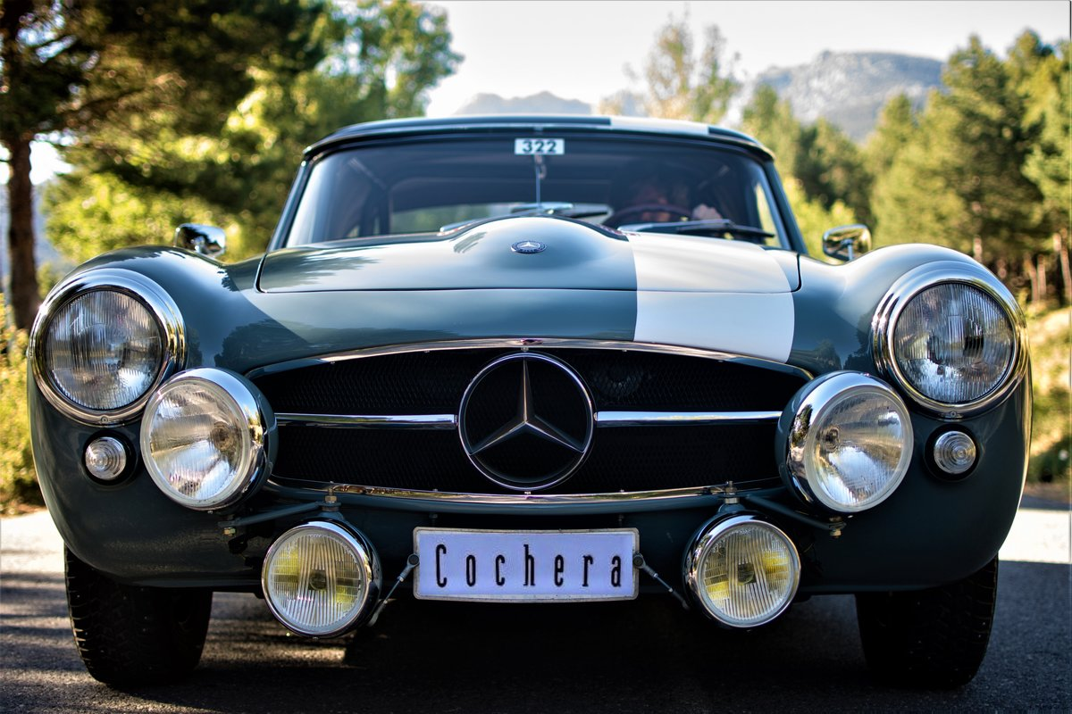 1962 Mercedes-Benz 190SL Montecarlo Historic Rally Elegible For Sale (picture 1 of 6)