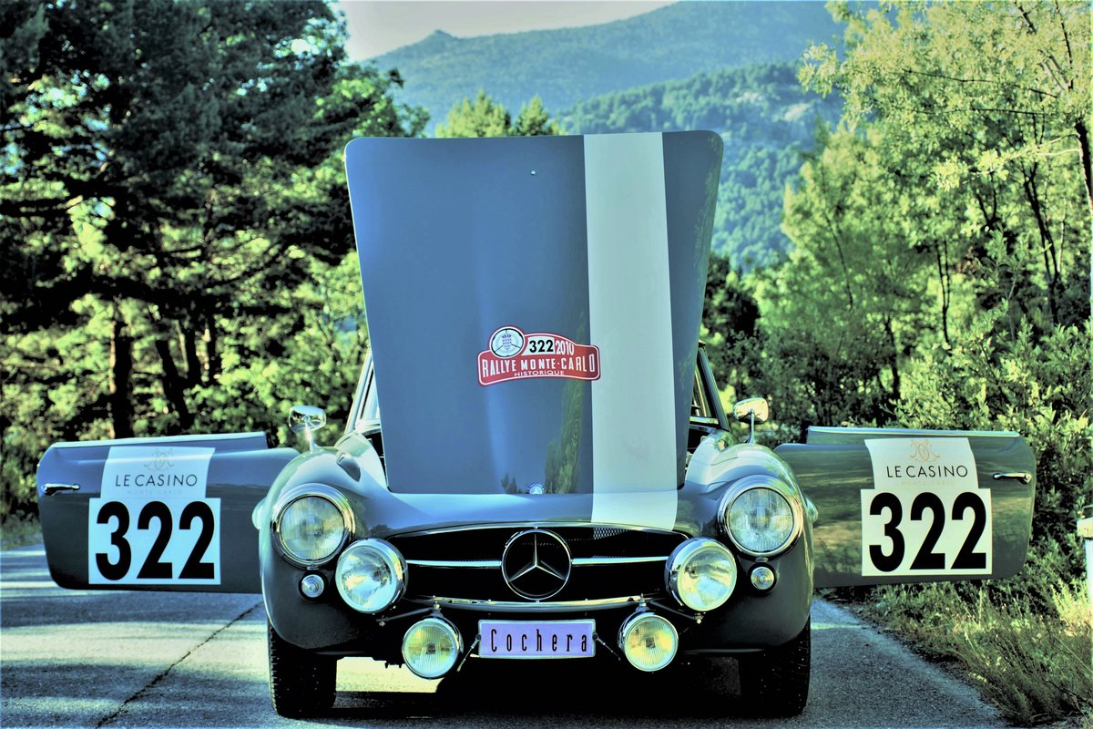 1962 Mercedes-Benz 190SL Montecarlo Historic Rally Elegible For Sale (picture 2 of 6)