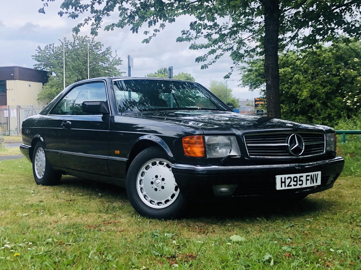 1990 MERCEDES-BENZ C126 W126 560 SEC COUPE - SUPER VALUE SOLD (picture 1 of 6)