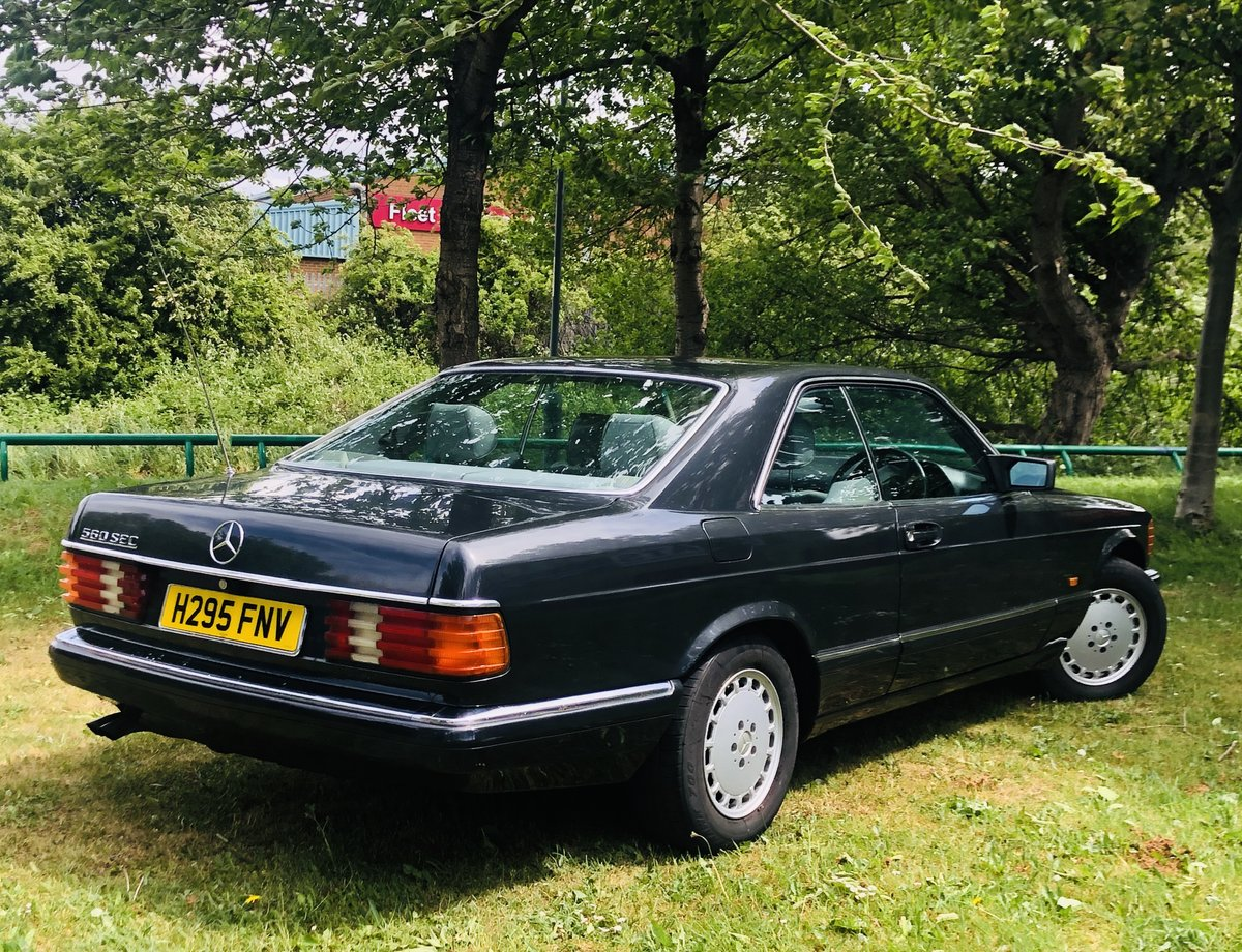 1990 MERCEDES-BENZ C126 W126 560 SEC COUPE - SUPER VALUE SOLD (picture 2 of 6)