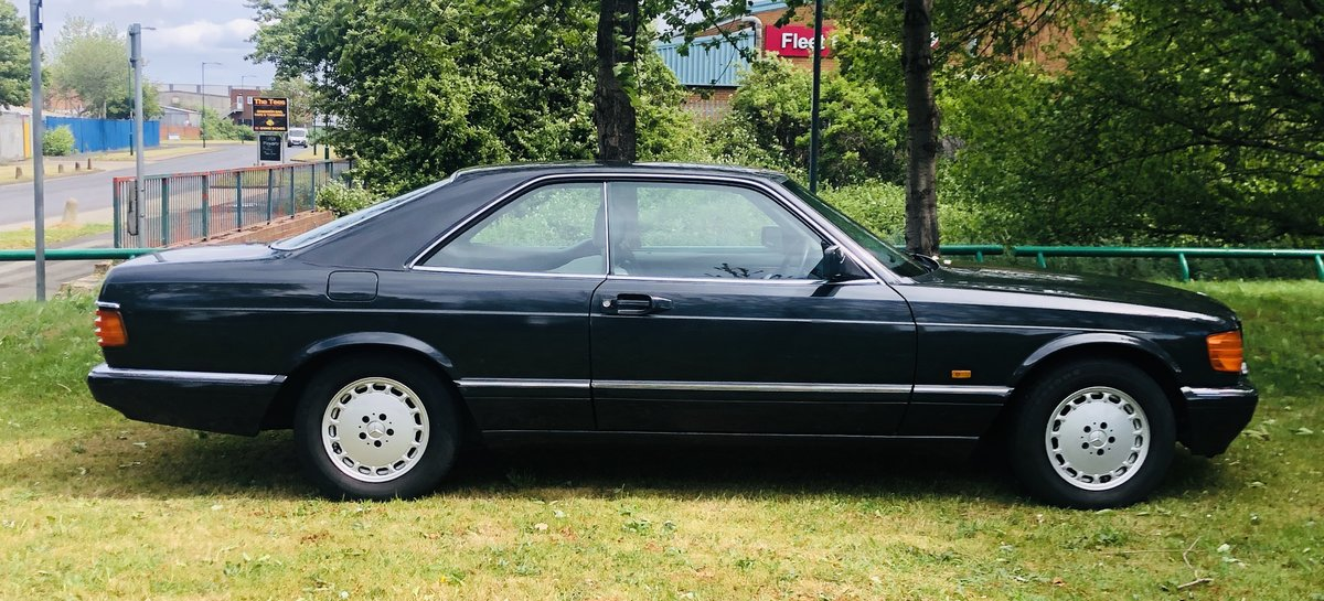 1990 MERCEDES-BENZ C126 W126 560 SEC COUPE - SUPER VALUE SOLD (picture 3 of 6)