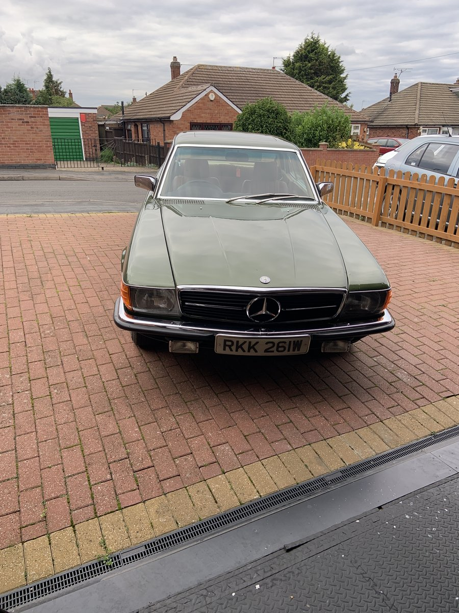 1981 Mercedes 380 SLC in a rare colour For Sale (picture 1 of 6)