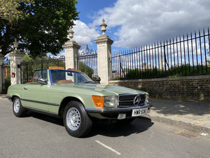 1979 Mercedes Benz 350SL with only 29500 miles since new!! For Sale