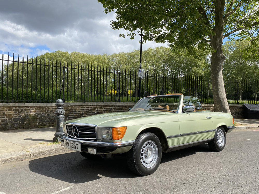 1979 Mercedes Benz 350SL with only 29500 miles since new!! For Sale (picture 2 of 24)
