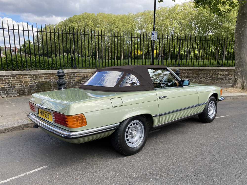 1979 Mercedes Benz 350SL with only 29500 miles since new!! For Sale (picture 10 of 24)