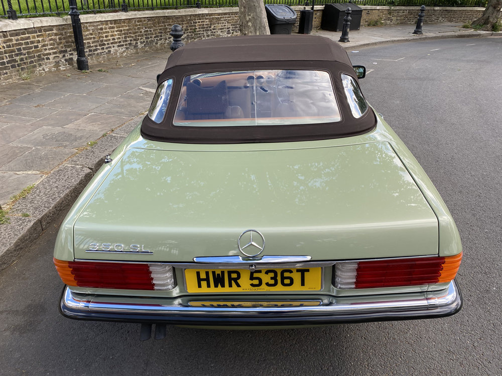 1979 Mercedes Benz 350SL with only 29500 miles since new!! For Sale (picture 14 of 24)