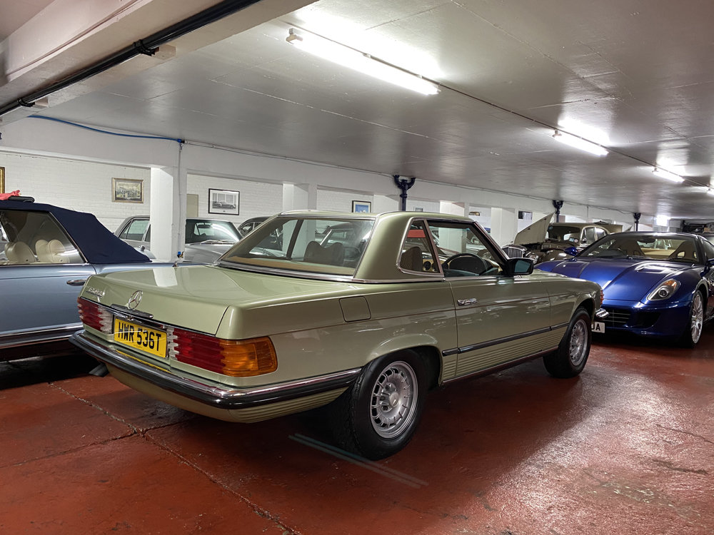 1979 Mercedes Benz 350SL with only 29500 miles since new!! For Sale (picture 24 of 24)