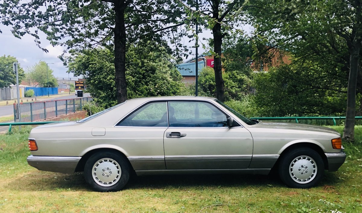 1989 1990 MERCEDES-BENZ C126 560 SEC COUPE - VERY LOW MILEAGE SOLD (picture 3 of 6)