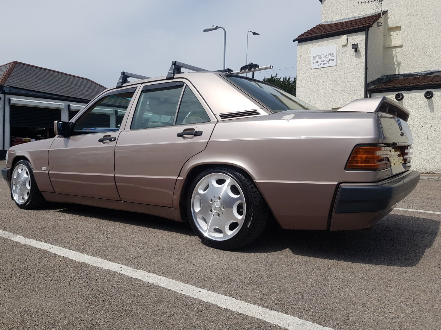 1993 Mercedes 190e w201 SOLD | Car And Classic