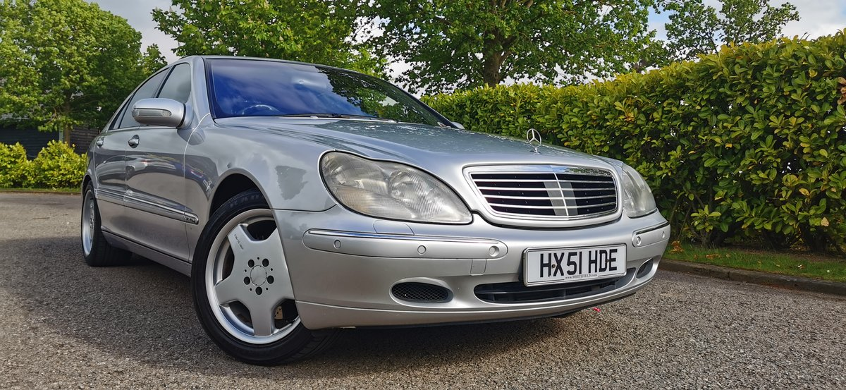 2001 Mercedes s class s600l limousine lwb v12 w220 For Sale (picture 1 of 6)