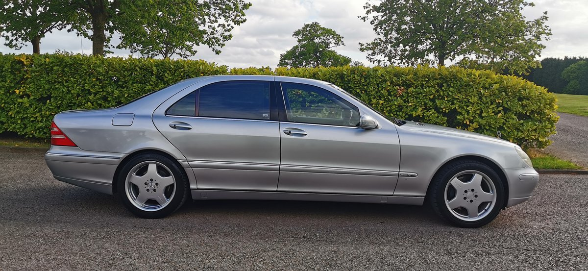 2001 Mercedes s class s600l limousine lwb v12 w220 For Sale (picture 2 of 6)