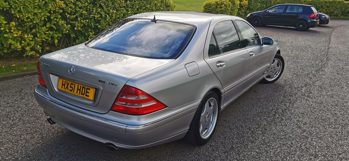 2001 Mercedes s class s600l limousine lwb v12 w220 For Sale (picture 3 of 6)