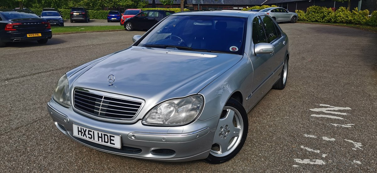 2001 Mercedes s class s600l limousine lwb v12 w220 For Sale (picture 6 of 6)
