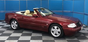 1998 Mercedes SL320 - Only 7,700 miles SOLD