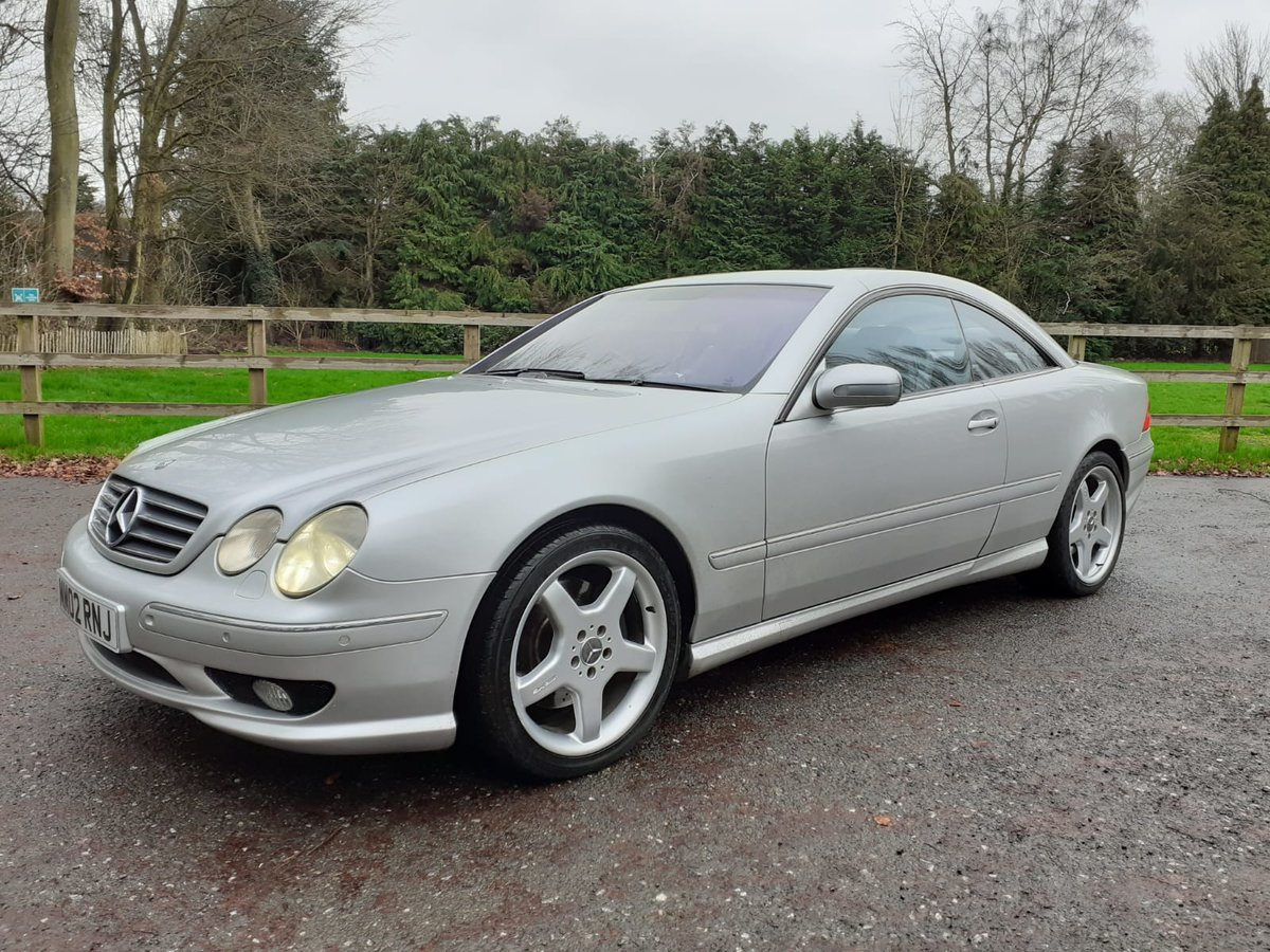 2002 Mercedes Cl55 55 amg 5.4v8 in excellent condition For Sale (picture 1 of 6)