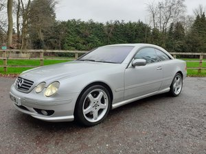 Mercedes Cl55 55 amg 5.4v8 in excellent condition